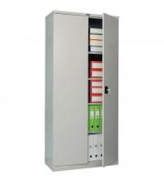 Шкаф металлический офисный Практик СВ-12, 1860*850*400, серый