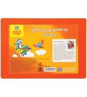 Доска для лепки Мульти-Пульти, А5, пластик, оранжевый