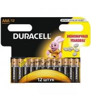Батарейка AAA/286/LR03 DURACELL, алкалин., 12шт.