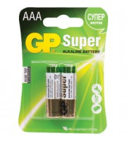 Батарейка AAA/286/LR03 GP Super, алкалин., 2шт.