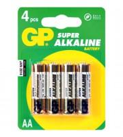 Батарейка AA/316/LR6 GP Super, алкалин., 4шт.