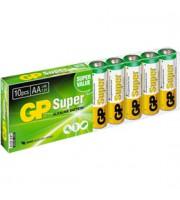 Батарейка AA/LR6/15A GP Super , алкалин., 10шт.
