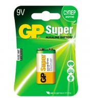 Батарейка 6LR61/9V/крона GP Super, алкалин.