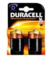 Батарейка D/373/LR20 DURACELL, алкалин., 2шт.