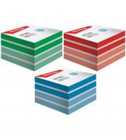 """Блок для записи на склейке Berlingo """"Megatop"""", 9*9*4,5см, цветной"""