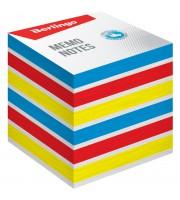 """Блок для записи на склейке Berlingo """"Rainbow"""", 8*8*8см, цветной, пастель"""