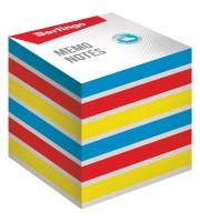 """Блок для записи на склейке Berlingo """"Rainbow"""", 8*8*8см, цветной"""