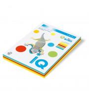 Бумага IQ COLOR MIX Intensive RB02 А4, 80г/м2, 5 насыщенных цветов, 250л