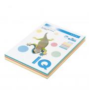 Бумага IQ COLOR Mix RB01 A4, 80г/м2, 5 цветов пастель, 250л