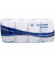 """Бумага туалетная OfficeClean """"Premium"""" 3-слойная, 8шт., тиснение, белая"""