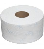 """Бумага туалетная OfficeClean """"Premium""""(T2) 2-слойная, мини-рулон, 170м/рул, мягкая, тиснение,белая"""