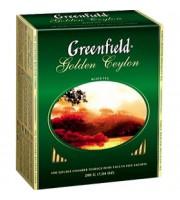 Чай GREENFIELD Golden Ceylon черный, 100 пак.