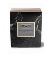 Чай Newby Black Tea&Thyme черный с чабрецом 100 г