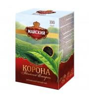 Чай Майский Корона Российской Империи черный 100 г