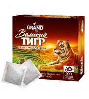 Чай Великий Тигр Индийский черный 100 пакетиков