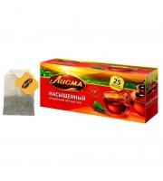 Чай Лисма Насыщенный черный 25 пакетиков