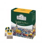 Чай Ahmad English №1 черный 100 пакетиков