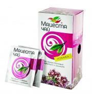 Чай Краснодарский черный с чабрецом и душицей (20 пакетиков по 2 г)