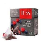 Чай Tess Forest Dream черный с лесными ягодами 20 пакетиков