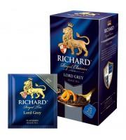 Чай Richard Lord Grey черный 25 пакетиков