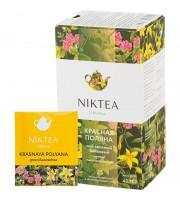 Чай Niktea Красная Поляна зеленый травяной 25 пакетиков