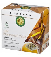 Чай Shennun Молочный Улун зеленый 15 пакетиков