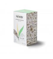 Чай Newby Jasmine Blossom зеленый с жасмином 25 пакетиков