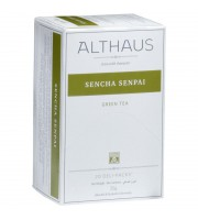 Чай Althaus Deli Packs Sencha Senpai зеленый 20 пакетиков