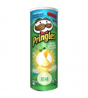 Чипсы Pringles со вкусом сметаны и лука 165 г