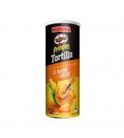 Чипсы Pringles Tortilla со вкусом сыра начо 160 г