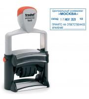 Датер автоматический TRODAT 5460 со свободным полем, 4мм, синий