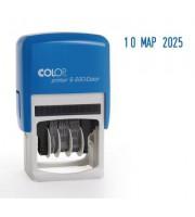 Датер автоматический пластиковый Colop S220 (шрифт 4 мм, буквенное обозначение месяца)