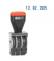 Датер ручной Colop 04000 Bank (месяц обозначается цифрами, 4 мм)