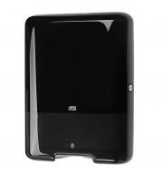 Держатель для листовых полотенец Tork Singlefold Н3 ZZ/С 553008 пластиковый черный