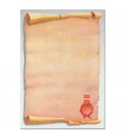 Дизайн-бумага DECADRY А4, 80г/м2, Свиток с печатью, 25л.