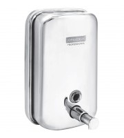 Диспенсер для жидкого мыла OfficeClean Professional, наливной, 1л, нержавеющая сталь