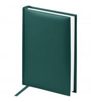 """Ежедневник недатированный, A6, 160л., балакрон, OfficeSpace """"Ariane"""", зеленый"""