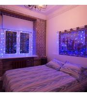 Гирлянда светодиодная Neon-Night Занавес бахрома синяя 96 светодиодов (1.5x1.5 м)