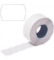 Этикет лента 26х16 белая волна 1000шт/рул 10рул.