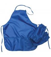 Фартук с нарукавниками ArtSpace, 54*45см, 3 кармана, синий