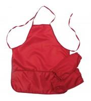 Фартук с нарукавниками ArtSpace, 54*45см, 3 кармана, красный
