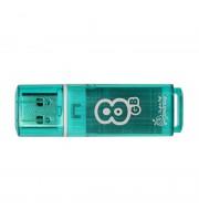 Флеш-память SmartBuy Glossy series 8Gb USB 2.0 зеленая