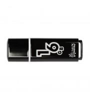 Флеш-память SmartBuy Glossy series 16Gb USB 2.0 черная