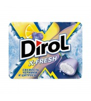 Жевательная резинка Dirol X-Fresh черника и цитрус (12 штук по 16 г)
