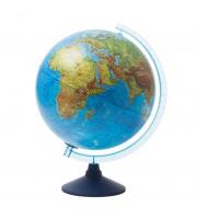 Глобус физико-политический Globen, 32см, с подсветкой от батареек на круглой подставке