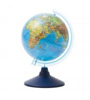 Глобус физический Globen, 15см, на круглой подставке