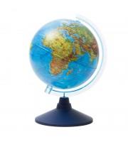 Глобус физический Globen, 21см, на круглой подставке