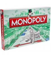 """Игра настольная Hasbro """"Монополия классическая"""", картонная коробка"""
