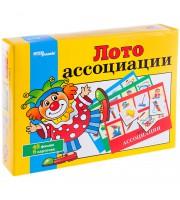 """Игра настольная Лото, Step Puzzle """"Ассоциации"""", картонная коробка"""