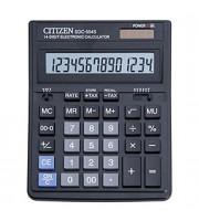 Калькулятор настольный 14 разрядов CITIZEN SDC-554S, 153х199х30,5мм, черный